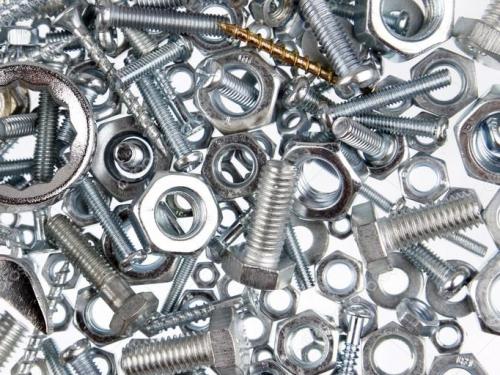 Bolts, screws, nuts